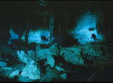 Underjordiska salar  - grottorna på Yucatanhalvön