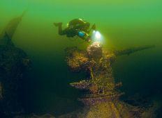 Ubåten S2 återfunnen – DYK var med vid dykningarna på den sovjetiska ubåten