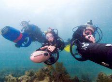Undervattensskoter – till nytta och nöje
