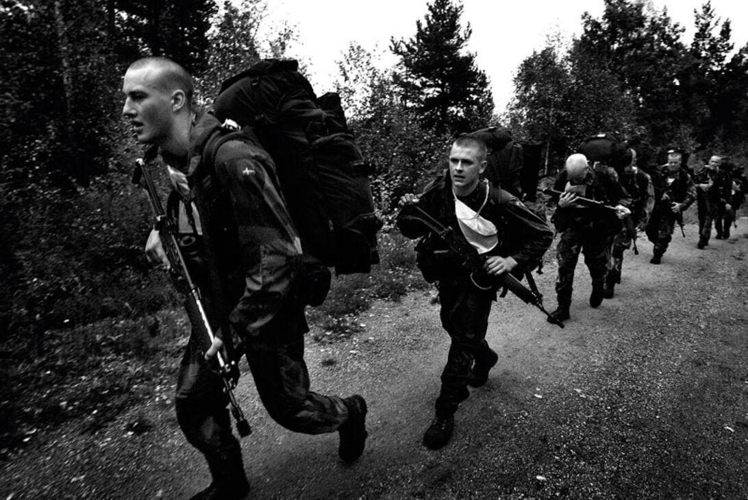 Svett, smärta och stolthet - uttagning till attackdykarna