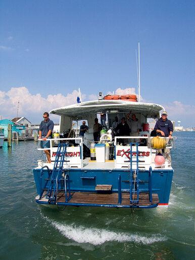 Upp i båten!
