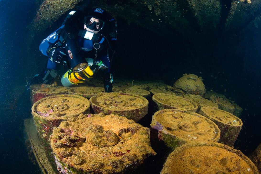 Truk Lagoon − lagunens djupa vrak