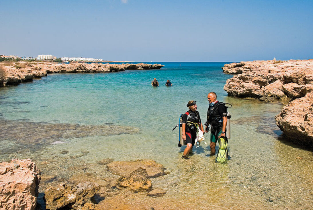 Cypern runt på sju dagar – dykturné i ilfart