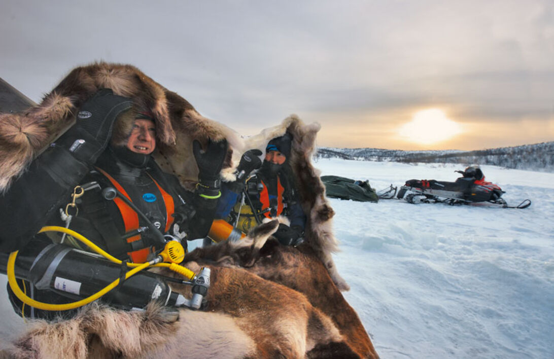 Norge – Kalla kårar i Kirkenes