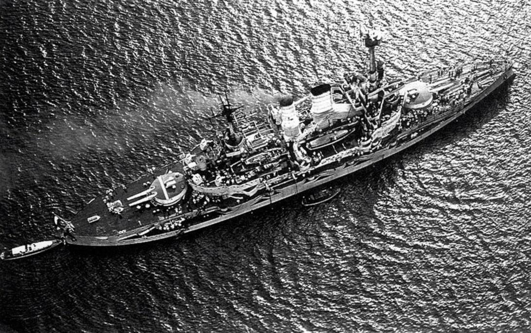 Slagskeppet – som startade andra världskriget
