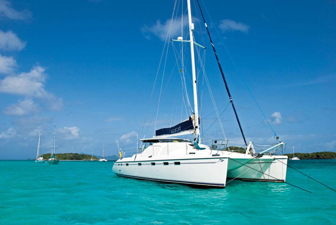 I Jack Sparrows kölvatten – segling i Grenadierna