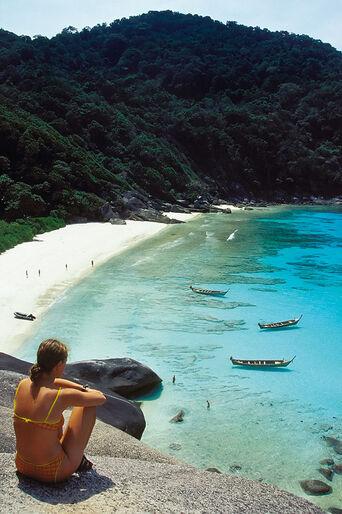 Similanöarna – thailändska västkustens snyggaste dyk