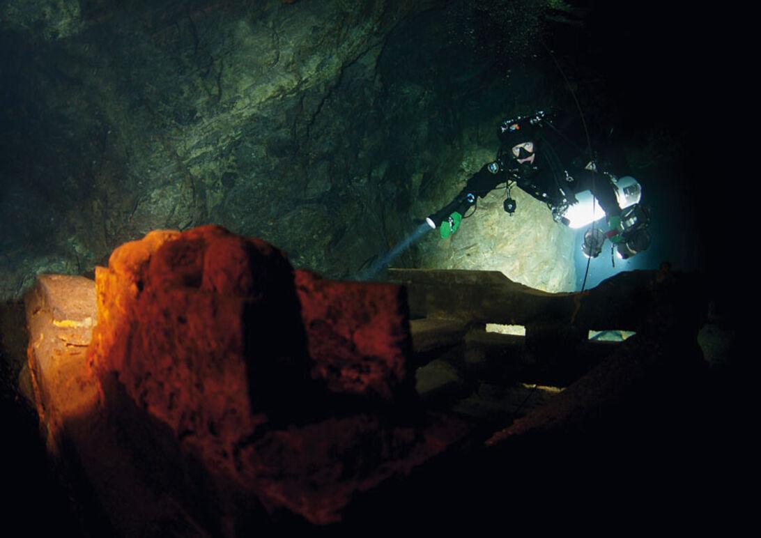 Tuna-Hästberg – grym gruvdykning