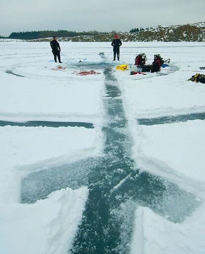 Isdykning – vinterens udfordring