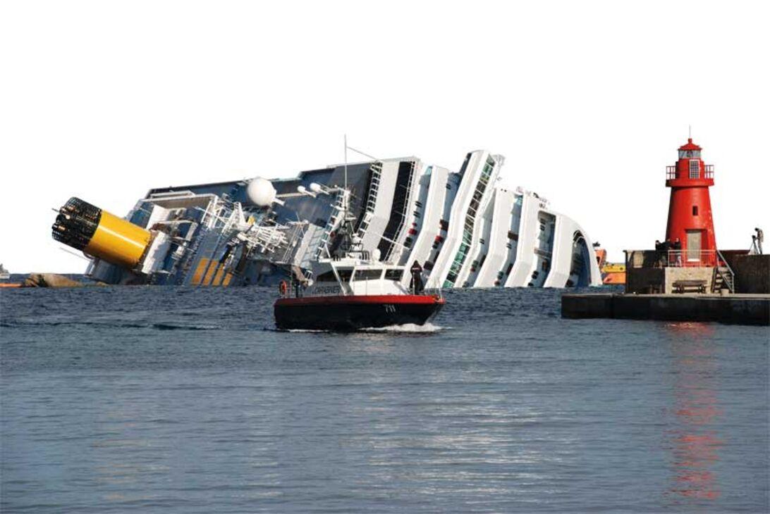 Efter katastrofen – dykarna som gör jobbet på Costa Concordia