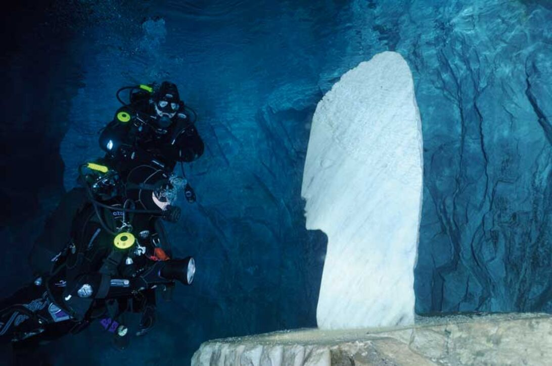 Naas Kalksteinbrudd – grottdykning för dummies