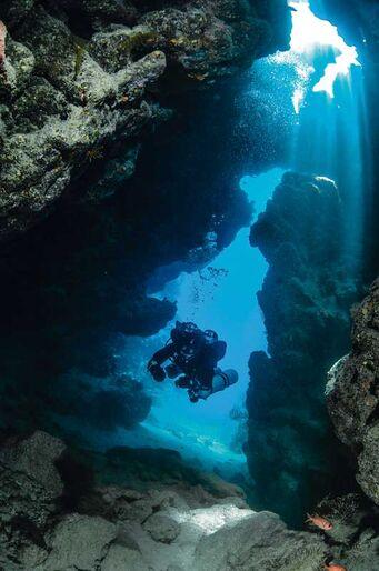 På djupt vatten i Dahab - Blå hålet – världens farligaste dykning?