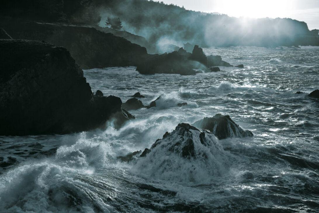 Californien – Ett kyligt dopp
