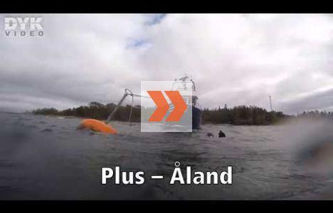 Vraket Plus vid Åland