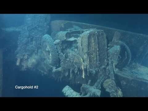 Video från dyk 2019 av Vegard Sandvik.