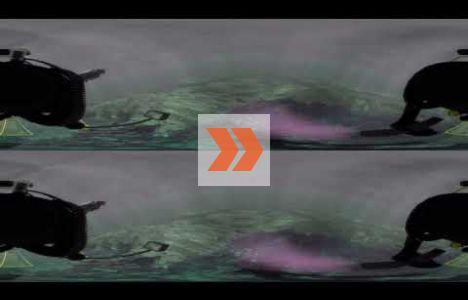 virtuell dyk på det holländska fartyget Melckmeyt. Video: John McCarthy