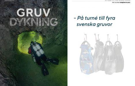 Gruvdykning – På turné till fyra svenska gruvor