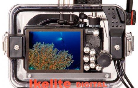 IKELITE-HUS TILL SONY HX9V