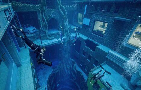 Världens djupaste pool öppnar i Dubai