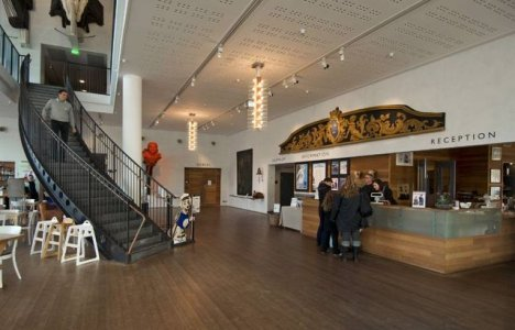 Många besöker Marinmuseum