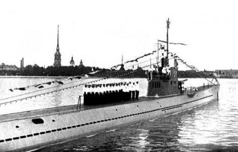 S 6 då. Foto: Sovjetiska marinen