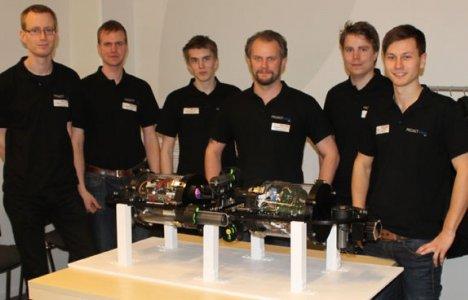 Teamet bakom VASA Foto: Project Vasa