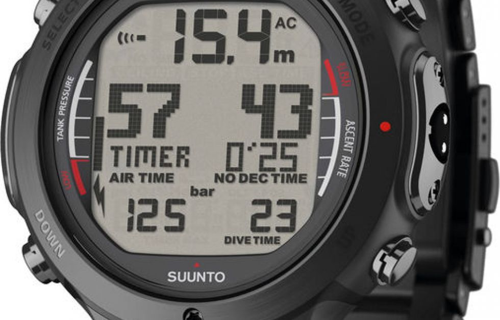 Suunto Black D6i All Black