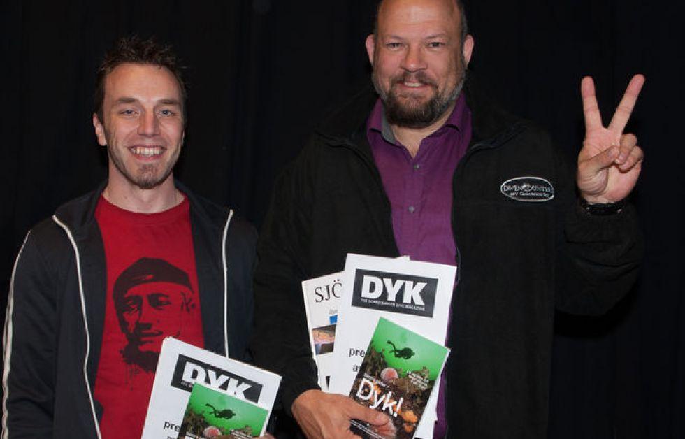 Rikard Godlund och Mikael Thulin Foto: Ingvar Eliasson