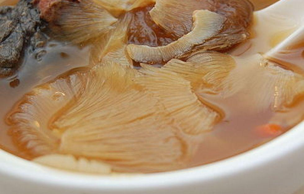 Hajfenssoppa Foto: Wikipedia
