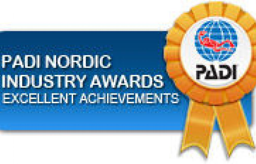 PADI Nordic Industry Awards 2011