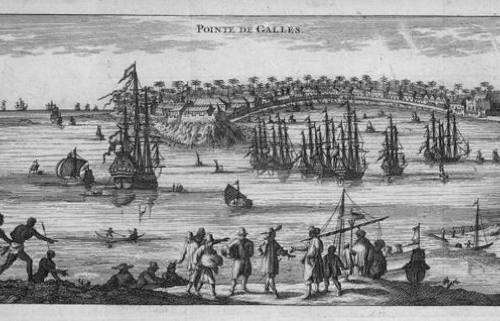 Hamnen i Galle Bild: Wikipedia