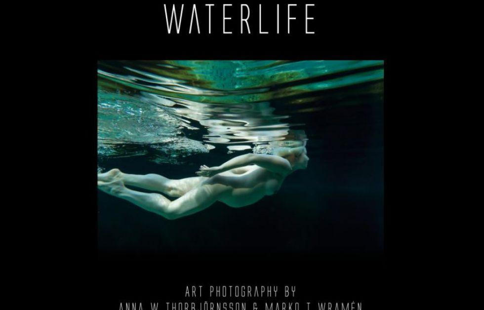 Waterlife undervattensfoto-konstbok