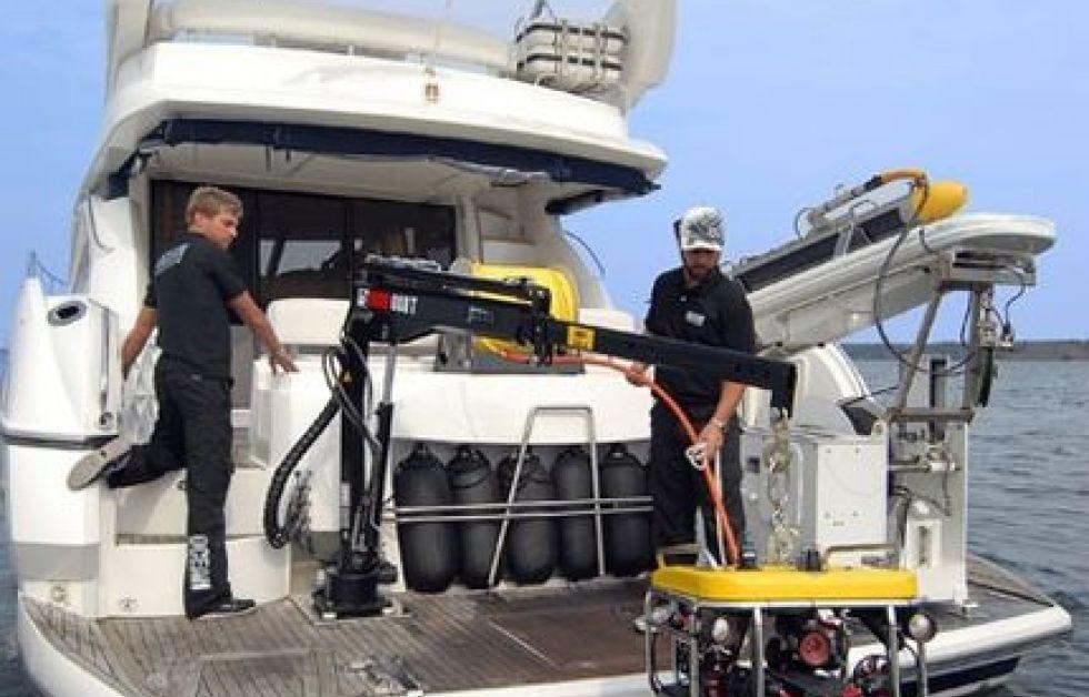 Expeditionsfartyget Princess Alice är bland annat uturstat med ROV och Side Scan