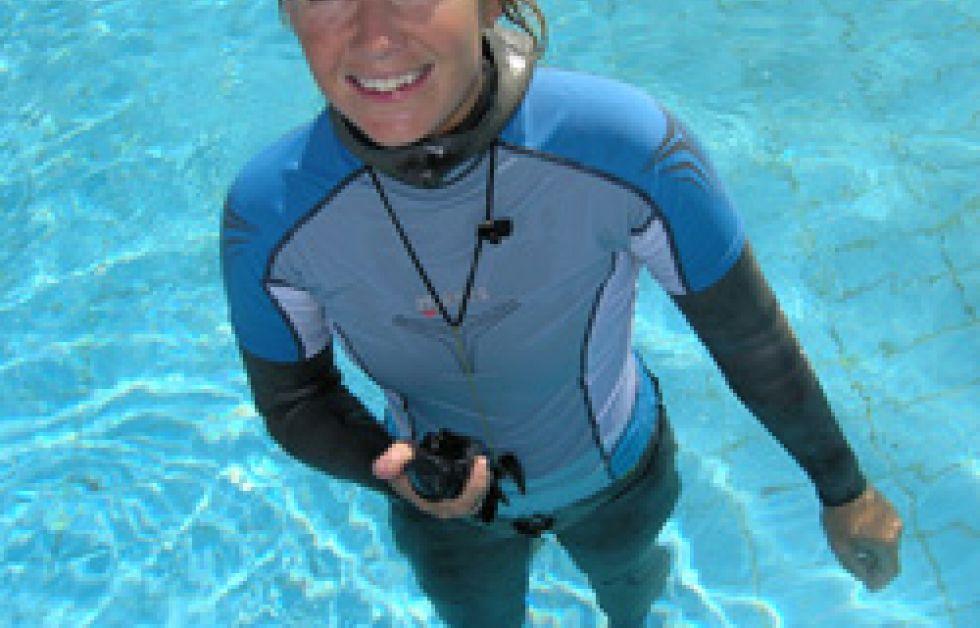 Annelie Pompe vill nå 100 meter