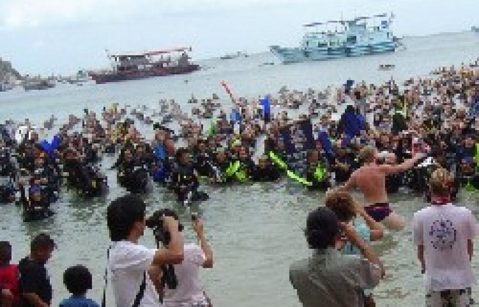 Dykare slår världsrekord