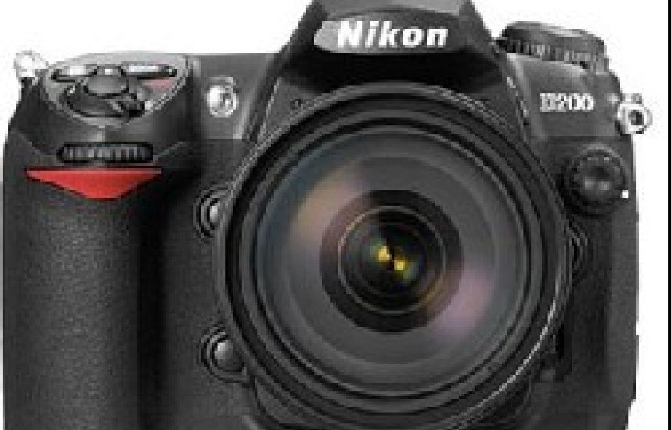 10 megapixlar i Nikon D200