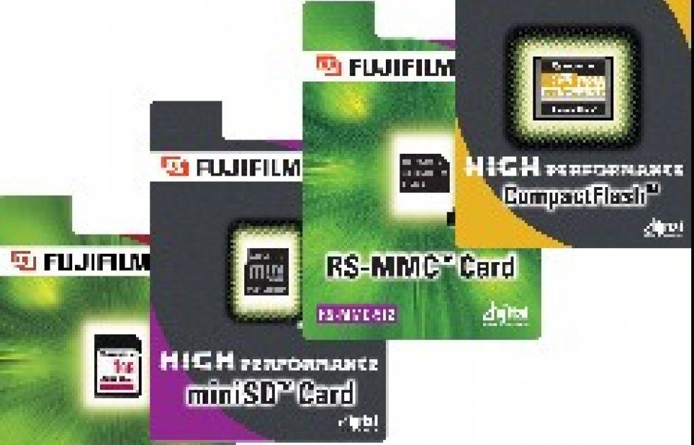 Fujifilm satsar på minneskort