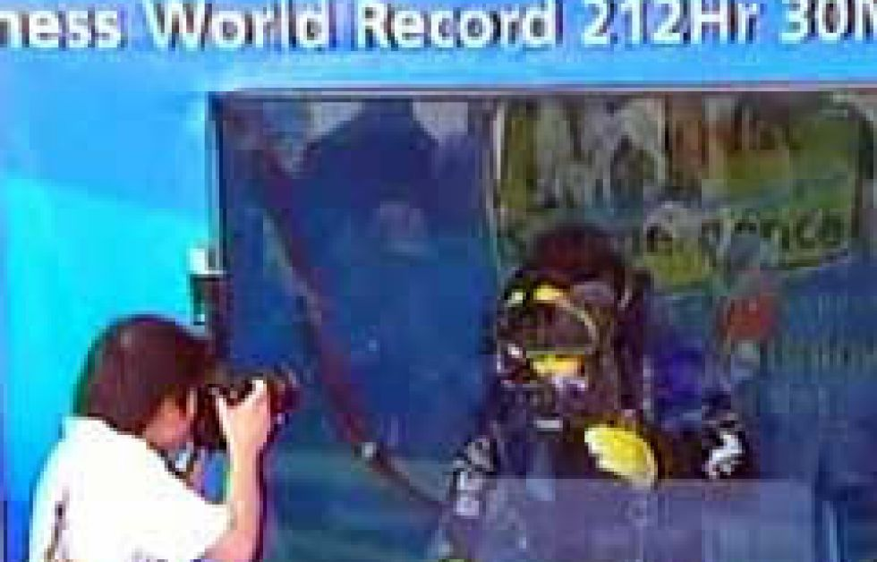 Rekordförsök i Singapore