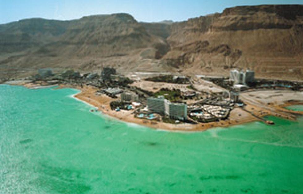 Röda havet blir Döda havet