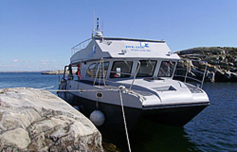 Ny båt hos Dyk-Leif