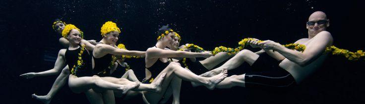 The underwater stage – Här blir stunts till filmverklighet