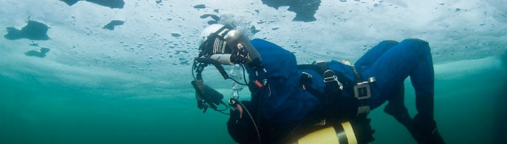 Isdyk i havet - en polarkick på hemmaplan