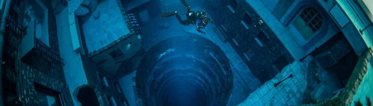 Deep Dive Dubai - Världens djupaste pool är inte en pool
