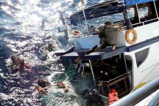 Dykbåt sjönk i Thailand