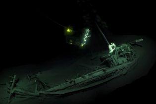 Det över 2400 år gamla vraket - Foto: Black Sea MAP/EEF Expeditions/AFP